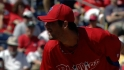 Hamels' scoreless outing