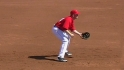 Trumbo&#039;s diving grab