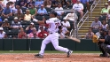 Hollimon&#039;s three-run blast