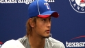 Darvish discusses latest outing