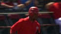 Aybar's leadoff home run