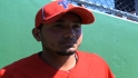 Galvis on Utley&#039;s injury