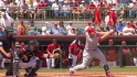 Holliday's two-run triple