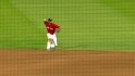Pedroia&#039;s nice play