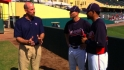 Smoltz visits Braves camp