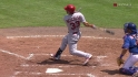 Descalso's two-run double