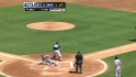 Santiago's RBI triple