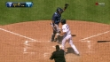 Rays turn odd double play