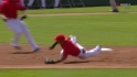 Aybar's great flip