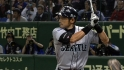 Ichiro&#039;s first at-bat of 2012
