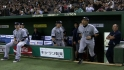 Ichiro receives ovation