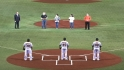 Ceremonial first pitch in Japan