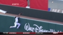 Heyward&#039;s catch at the wall