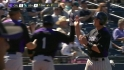 Harris' RBI groundout