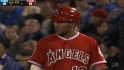 Amarista singles to second
