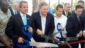 Marlins&#039; ribbon cutting ceremony