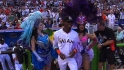 Marlins&#039; grand entrance
