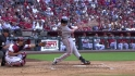 Posey's first hit back from DL