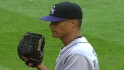 Guthrie wins in Rockies debut