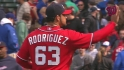 Rodriguez locks down the save