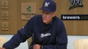 Roenicke on Greinke, win