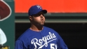 Broxton's first Royals save