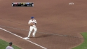 Wright starts a double play