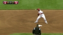 Cozart starts double play