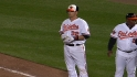 Wieters' four-hit game