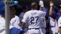 Kemp's RBI groundout