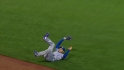 Hosmer's slick sliding grab