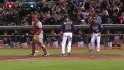 Parmelee's two-run triple