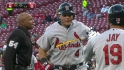 Molina's back-to-back blast