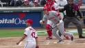 Mesoraco's first career double