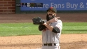 Wilson earns first save of 2012