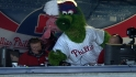 Phanatic brings hot dogs