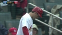 Freese gets standing ovation