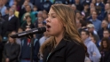 Juneau&#039;s Graceman sings anthem