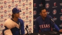 Darvish on making adjustments