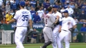 Benches clear in Kansas City