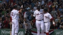 Red Sox's five homers