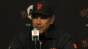 Bochy on Wilson&#039;s injury