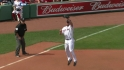 Youk's leaping grab