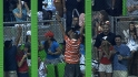Fan catches Infante&#039;s homer