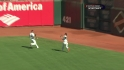 Blanco's running catch