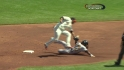Posey throws out McCutchen