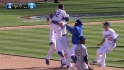 Padres lose on walk-off hit