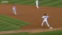 Teixeira starts a double play