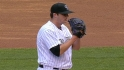 Pomeranz&#039;s first Rockies K