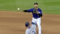 Tulo starts a double play